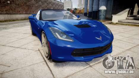 Chevrolet Corvette C7 Stingray 2014 v2.0 TireYA3 pour GTA 4