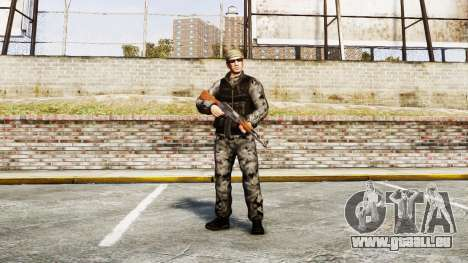 Medal of Honor LTD Camo2 pour GTA 4
