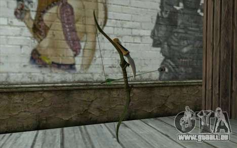 Green Arrow Bow v2 pour GTA San Andreas deuxième écran