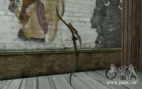 Green Arrow Bow v2 für GTA San Andreas zweiten Screenshot