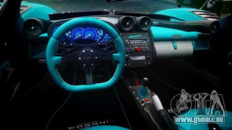 Pagani Zonda Uno pour GTA 4 Vue arrière