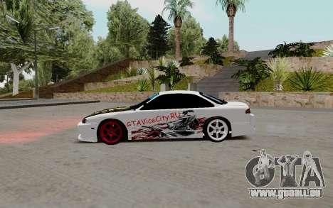 Nissan Silvia S14 VCDT pour GTA San Andreas laissé vue