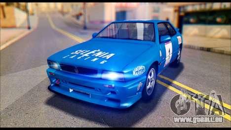 Maserati Ghibli II Cup (AM336) 1995 [ImVehFt] für GTA San Andreas Innenansicht
