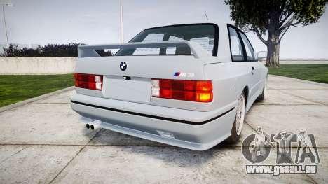 BMW M3 E30 1991 [EPM] pour GTA 4 Vue arrière de la gauche
