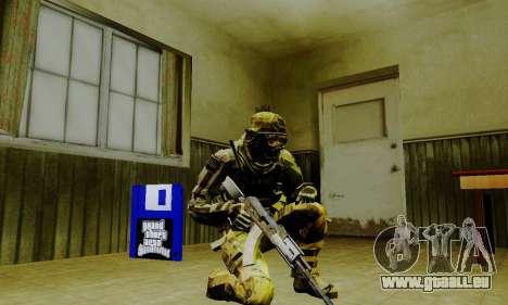 Weapon pack from CODMW2 für GTA San Andreas zehnten Screenshot