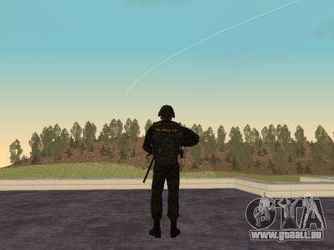 Les soldats de la MIA de la Fédération de russie pour GTA San Andreas deuxième écran