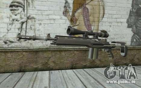 M14 EBR pour GTA San Andreas