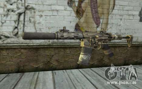 HoneyBadger from CoD Ghosts pour GTA San Andreas