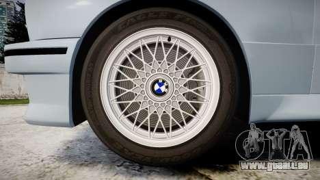 BMW M3 E30 1991 [EPM] pour GTA 4 Vue arrière