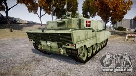 Leopard 2A7 DK Green für GTA 4 hinten links Ansicht