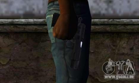 CZ75 v1 pour GTA San Andreas troisième écran