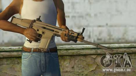 AK12 from Battlefield 4 pour GTA San Andreas troisième écran