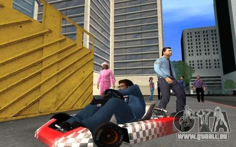 Mis à jour Kart pour GTA San Andreas pour GTA San Andreas vue arrière