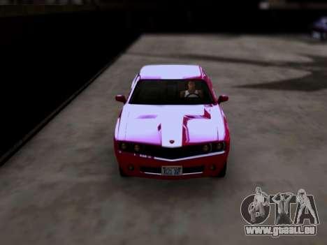 Bravado Gauntlet GTA 5 pour GTA San Andreas vue de droite
