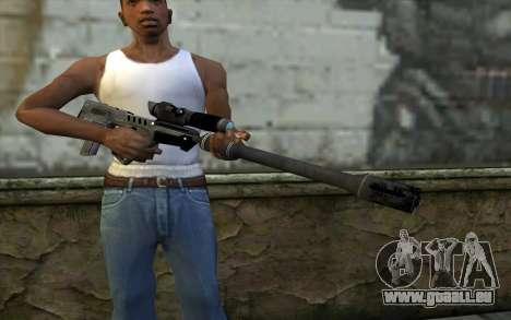 Sniper Rifle pour GTA San Andreas troisième écran