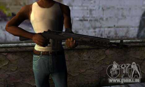 Rifle from State of Decay pour GTA San Andreas troisième écran