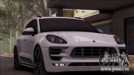 Porsche Macan pour GTA San Andreas