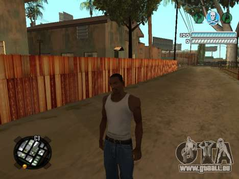 Respect C-HUD für GTA San Andreas