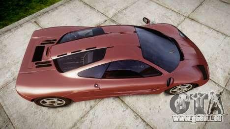 Mclaren F1 1993 [EPM] für GTA 4 rechte Ansicht