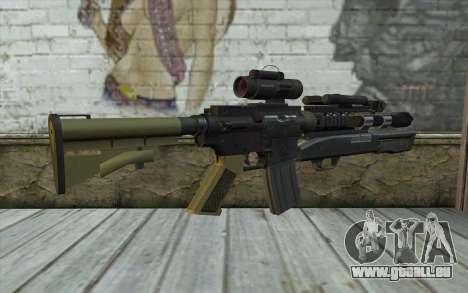 M4 MGS Aimpoint v3 für GTA San Andreas zweiten Screenshot