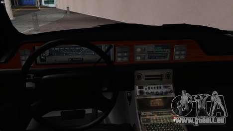 SD Chevy Caprice Station Wagon 1993 (1996) pour GTA San Andreas sur la vue arrière gauche