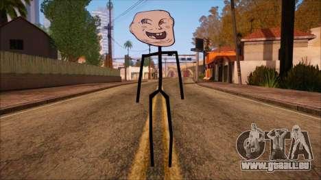 Skin de Meme Troll Bebe für GTA San Andreas