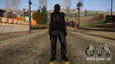 SAS from Counter Strike Condition Zero pour GTA San Andreas