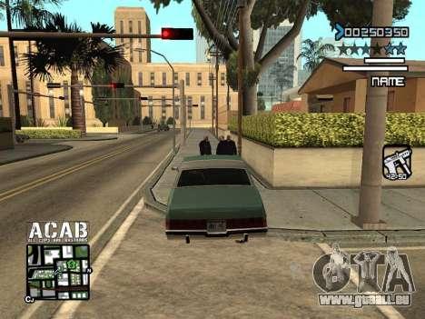 C-HUD by Edya pour GTA San Andreas troisième écran