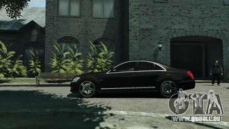 Mercedes-Benz W221 S63 AMG pour GTA 4 est une gauche