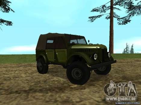 GAZ-69 für GTA San Andreas