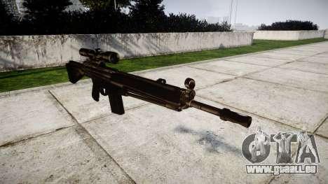Rifle G3SG1 für GTA 4
