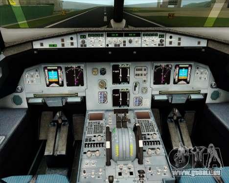 Airbus A320-200 Jet Airways pour GTA San Andreas salon