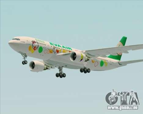 Airbus A330-200 EVA Air (Hello Kitty) pour GTA San Andreas