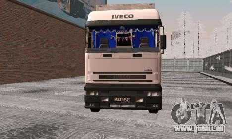 Iveco EuroTech pour GTA San Andreas laissé vue