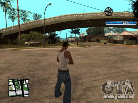 C-HUD by SampHack v.17 für GTA San Andreas zweiten Screenshot
