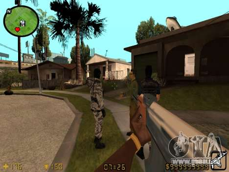 Counter-Strike HUD für GTA San Andreas