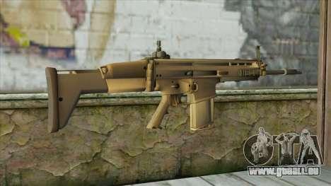 AK12 from Battlefield 4 pour GTA San Andreas deuxième écran