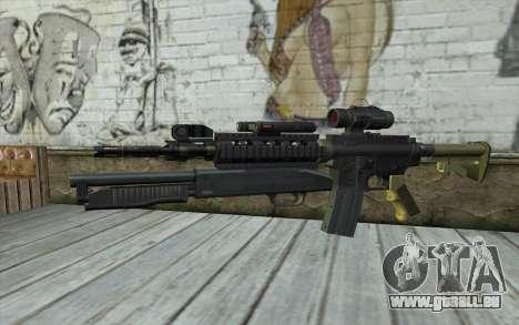 M4 MGS Aimpoint v3 für GTA San Andreas
