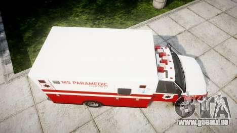 Vapid V-240 Ambulance für GTA 4 rechte Ansicht