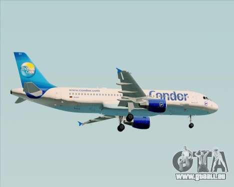 Airbus A320-200 Condor für GTA San Andreas Rückansicht