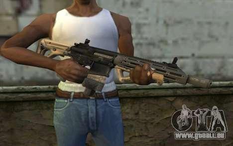 SIG-556 für GTA San Andreas dritten Screenshot