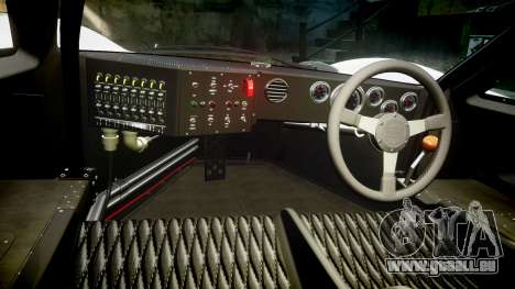 Ford GT40 Mark IV 1967 PJ 18 für GTA 4 Rückansicht