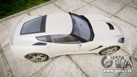 Chevrolet Corvette C7 Stingray 2014 v2.0 TireYA1 pour GTA 4 est un droit