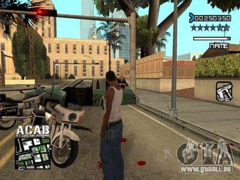 C-HUD by Edya pour GTA San Andreas quatrième écran