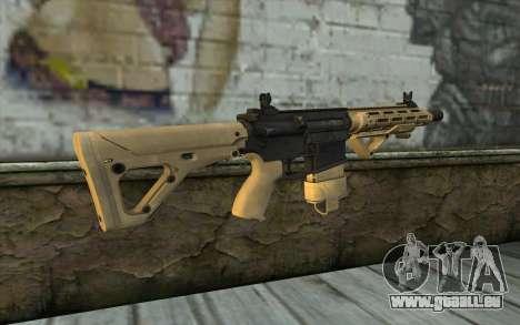 AR-25c pour GTA San Andreas deuxième écran
