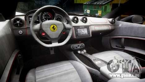Ferrari California [EPM] v1.5 pour GTA 4 est une vue de l'intérieur
