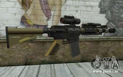 M4 MGS Aimpoint v2 pour GTA San Andreas deuxième écran