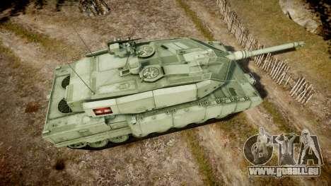 Leopard 2A7 AT Green für GTA 4 rechte Ansicht