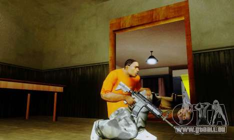 Weapon pack from CODMW2 für GTA San Andreas her Screenshot