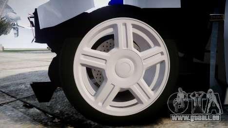 AIDE-2112 hobo pour GTA 4 Vue arrière